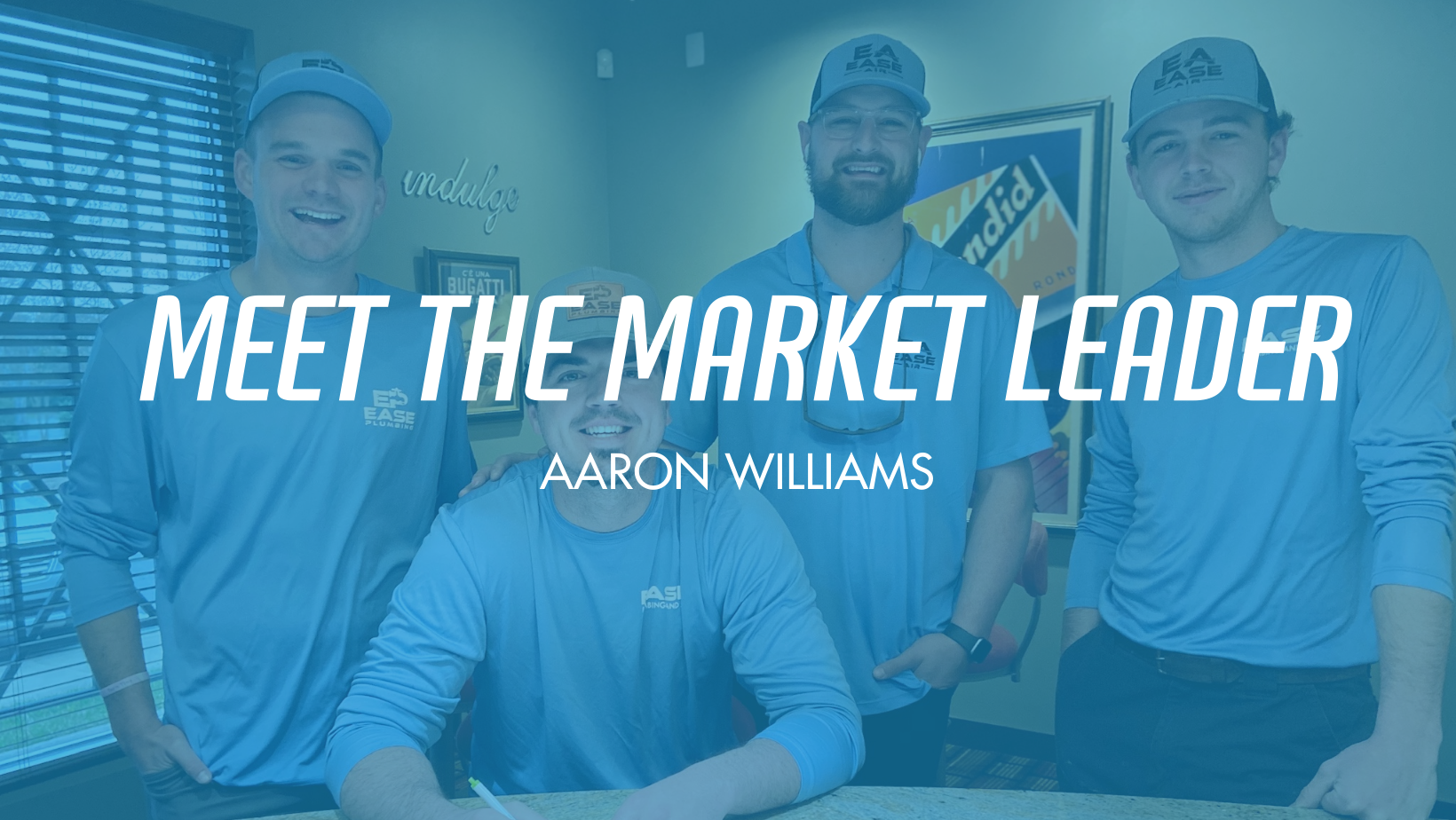Ease Plumbing and Air Introduces Aaron Williams as the Neighborhood Market Leader for the Greenville Branch of Ease Plumbing