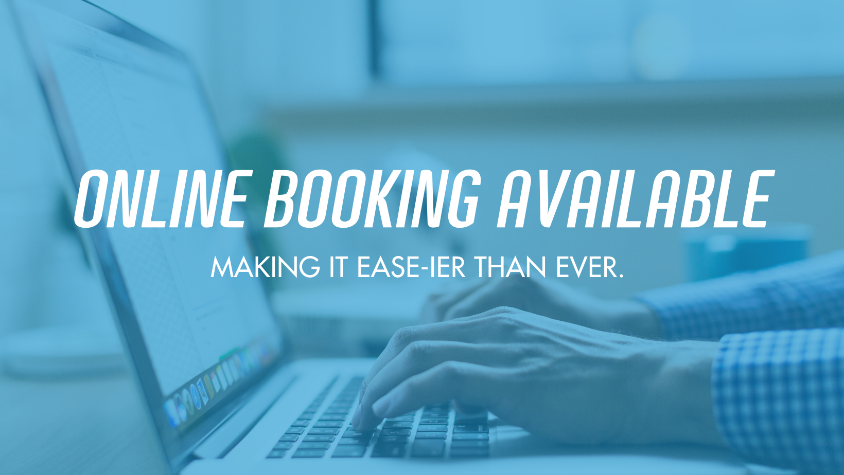 Online Booking Makes Scheduling Ease-ier Than Ever
