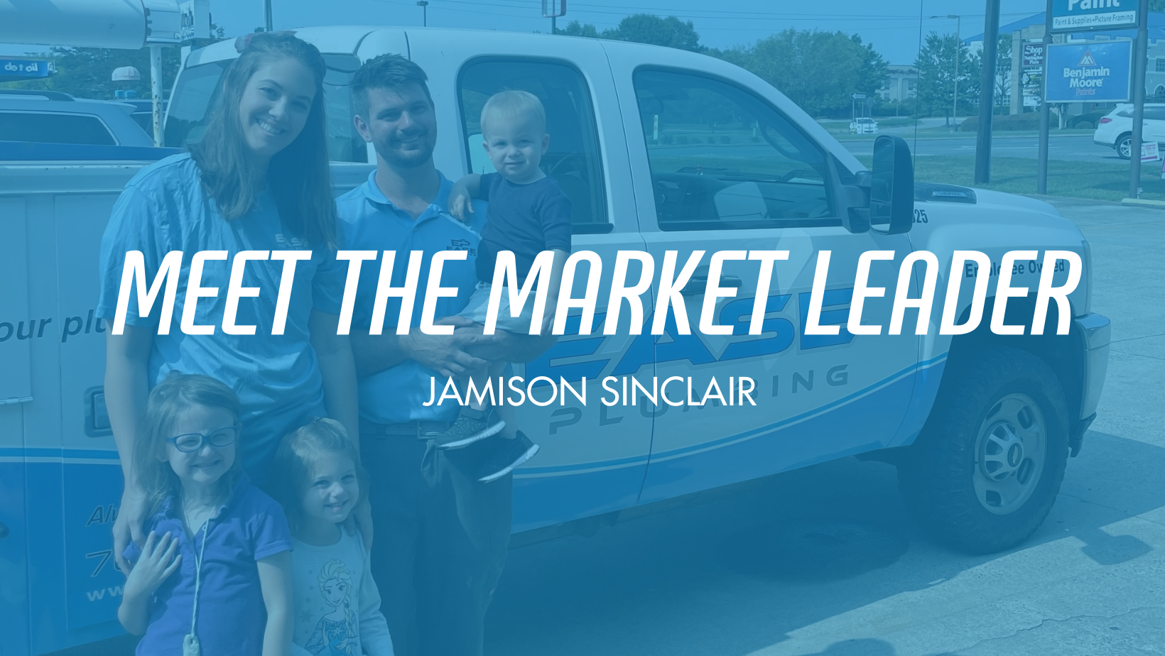 Ease Plumbing Welcomes Jamison Sinclair as the Newest Market Leader in Monroe, NC